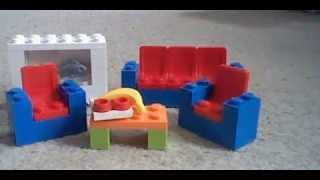 How To Build Lego Living Room Furniture