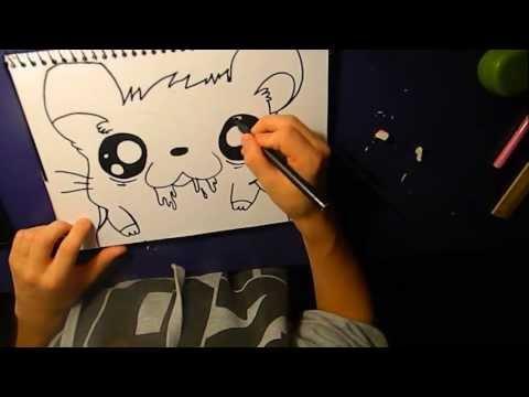 How To Draw Rabies Rabbit Graffiti Drawing