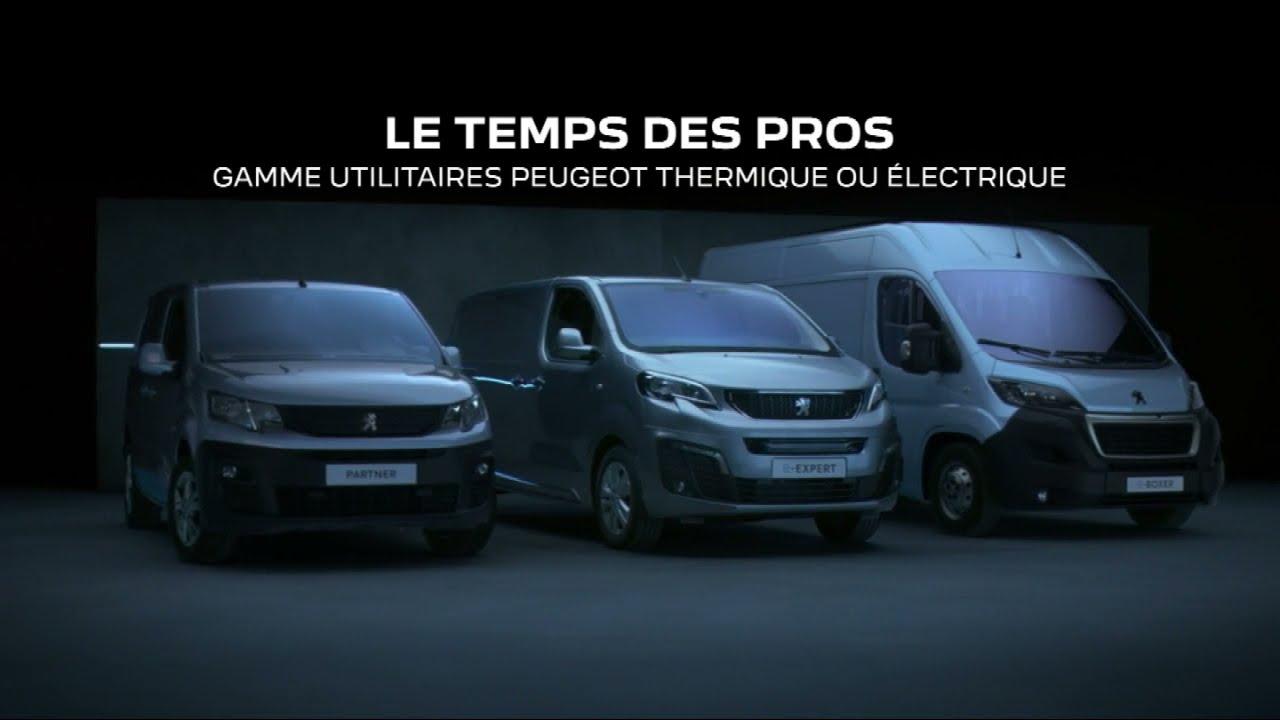 """Musique de la pub Peugeot E-Expert 100% électrique """"le temps des pros""""  Mai 2021"""