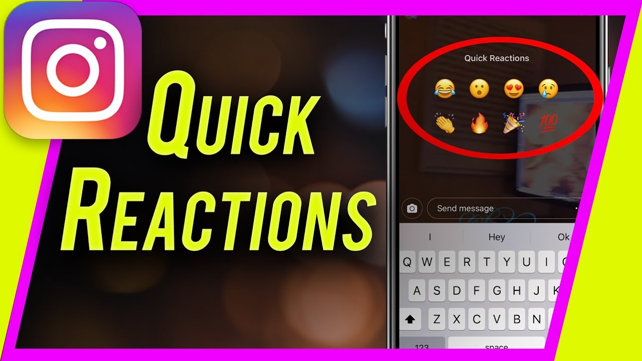 How to Use Instagram Story QUICK REACTIONS to Grow Your ...