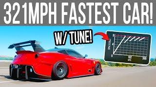 Forza Horizon 4 - 321+MPH FASTEST CAR! with TUNE!