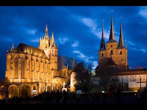 Столица Тюрингии - Эрфурт.Жизнь и путешествия по  Германии.