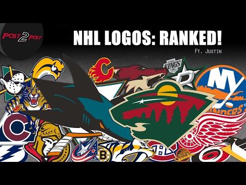 NHL Logos - Ranked by Justin!