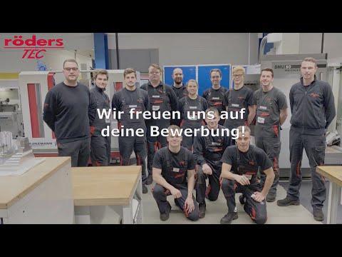 Ausbildung zum Werkzeugmechaniker - röders TEC - Azubifilm