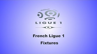 French Ligue 1 Fixtures :Matchday 38