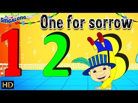 One For Sorrow (HD) | Mambo Musical Style | Nursery Rhymes | Popular Kids Songs