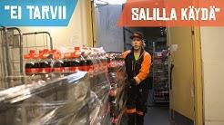 50 rullakkoa, eurolavat ja kaljadollyt - yö elintarvikekuljettajan mukana