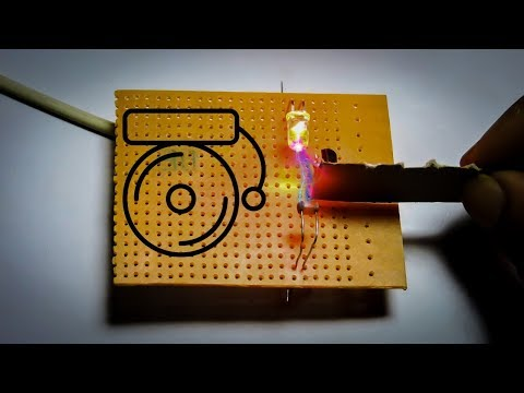 DIY Security alarm using LDR