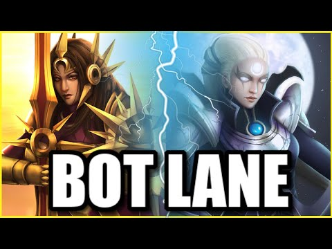 (SUN AND MOON!) THIS LEONA + DIANA BOT LANE COMBO IS THE MOST DEVASTATING BOTLANE EVER!