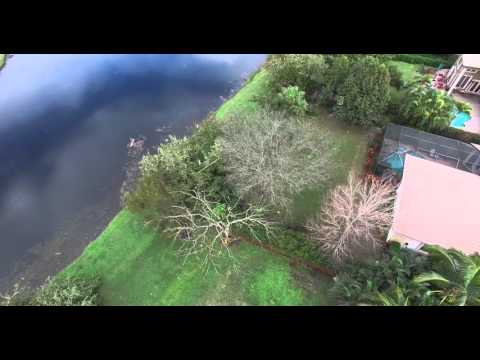 EF0 Tornado Hits Davie, FL caught on camera and damage filmed by DJI Phantom 3 Professional