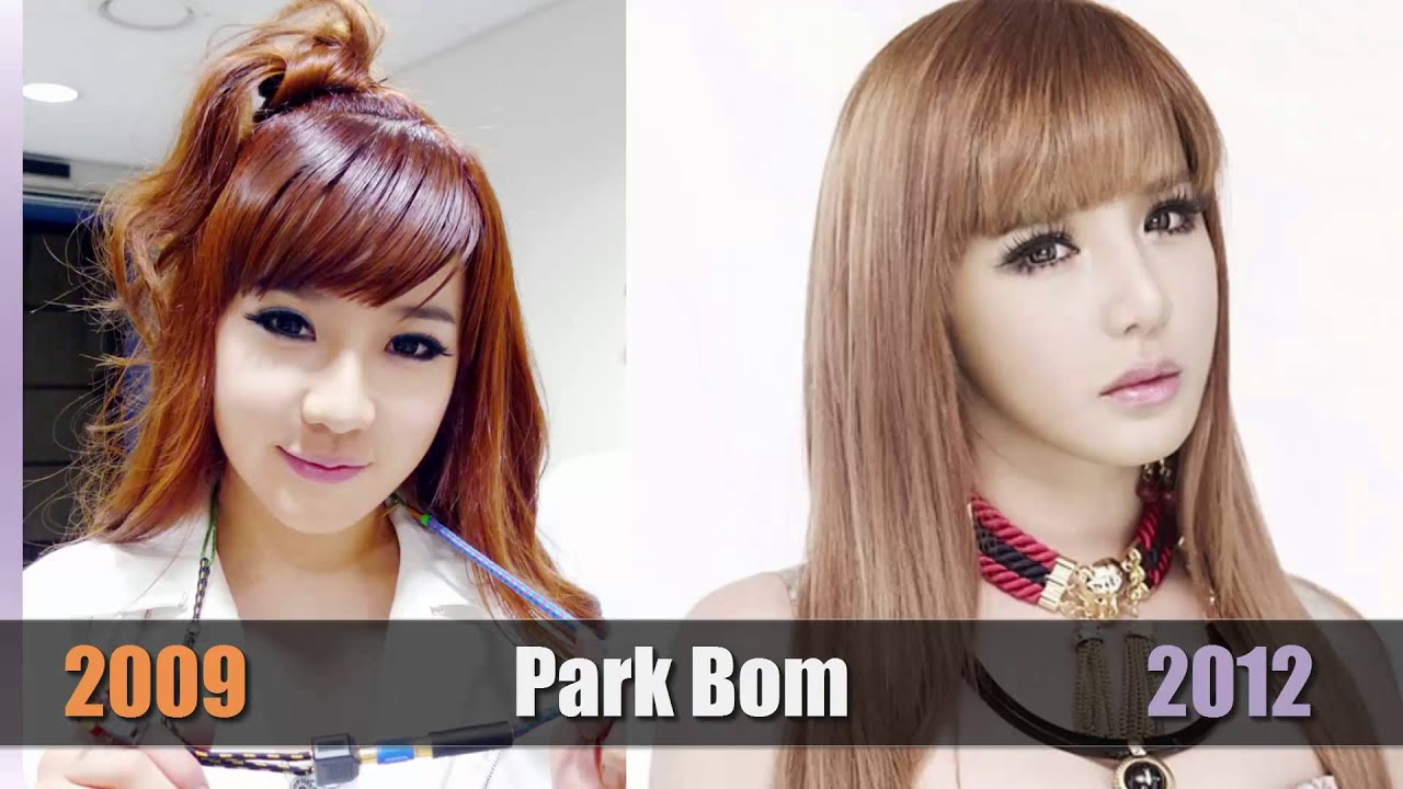 2ne1 now vs then - k-pop stars before and after - youtube