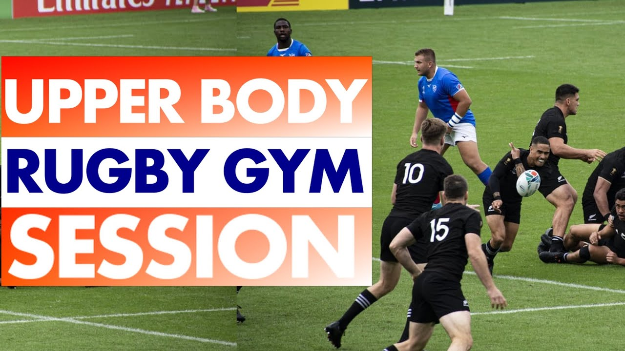 Rugby Exercise Program | Upper Body Gym [ Axe Physio ]