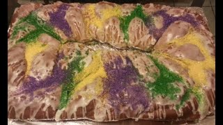 How to make a King Cake from scratch