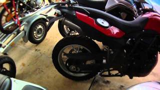Checking a BMW F650GS 2008 before buying