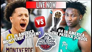 LIVE MUST SEE!! #1 Montverde (FL) vs #4 Patrick School (NJ) on CHAMPIONSHIP DAY of #TheJohnWall