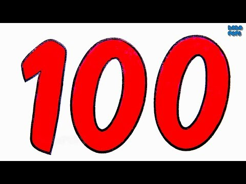 Big Numbers to 100 |Learn To Count 0 to 100 with Crayola Markers |Numbers to 100|Numbers for Kids