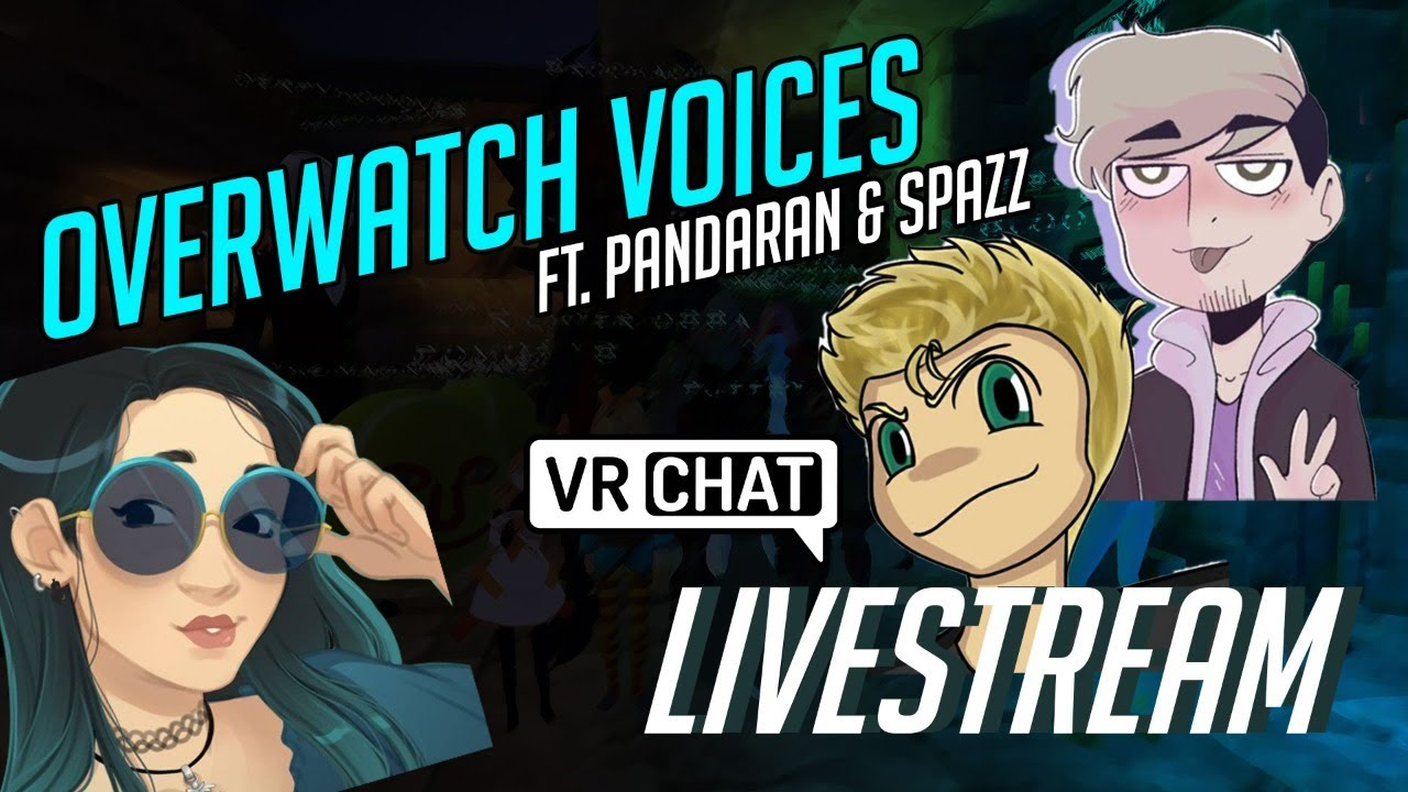 Voices in VR CHAT (ft.PandaranVA and SpazzVA)