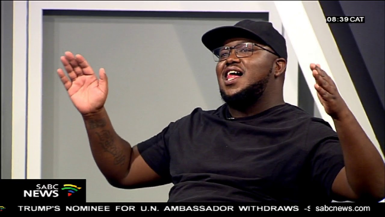 Skhumba the comedian with his new live show '#IMeanBizniss'
