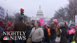 National Organizers Trying To Quell Women's March Controversy | NBC Nightly News