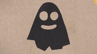 Мультфильм про оригами - Бумажки - Дом с привидениями - серия 27
