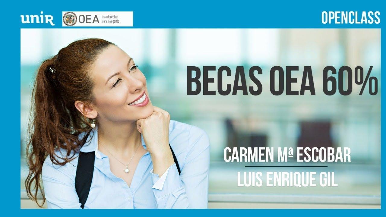 Becas OEA, tu oportunidad para cambiar tu futuro I #BecasOEAUNIR