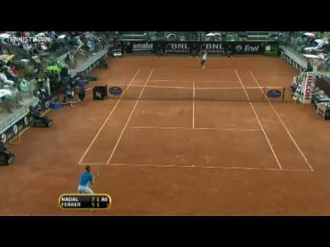 Rafael Nadal Wins Rome 2010