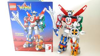 Voltron - LEGO Ideas 21311 Transformation and building process