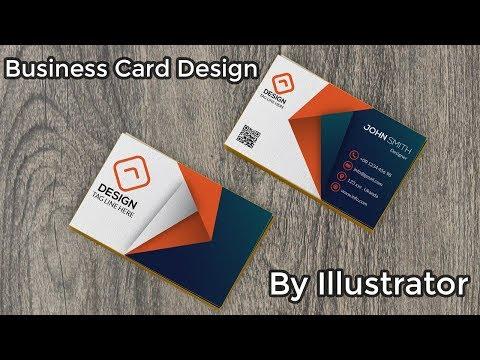 Business Card Design By Illustrator | Illustrator Tutorial | Adobe Illustrator CC thumbnail