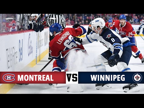 Montreal Canadiens vs Winnipeg Jets   Season Game 59   Highlights (18/2/17)