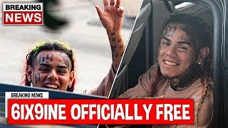 Tekashi 6ix9ine Officially Released From Prison After This...