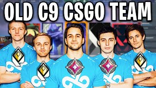 OLD CLOUD9 CS:GO TEAM PLAYS ON VALORANT (Shroud, sgares, n0thing, ska, freakazoid)
