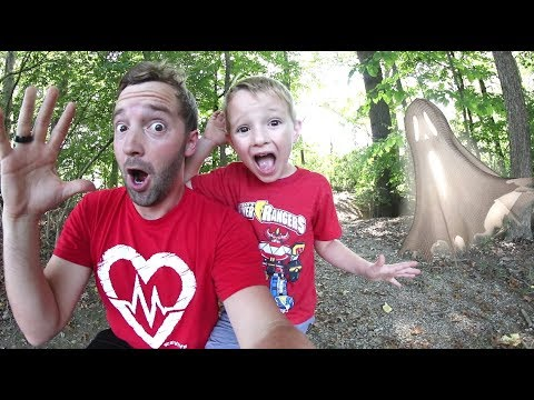 FATHER SON ADVENTURE TIME! / Haunted Woods!