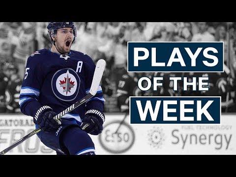 NHL Plays of The Week - Mark Scheifele Breaks Through The Avs