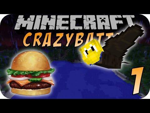 Minecraft CRAZY BATTLE #01 - Batman ist zurück!
