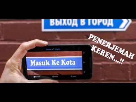 Penerjemah Bahasa Inggris Google Translate Menggunakan Kamera