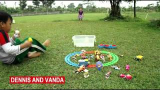 Play in The Park with Kids Toys Boboiboy – Masha – Disney – Train