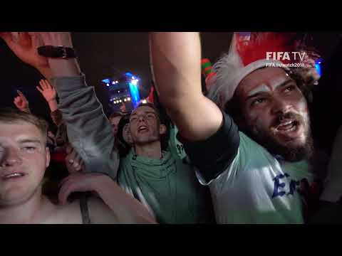 The Fan Fest Reacts - England Reach the Quarter-Finals!
