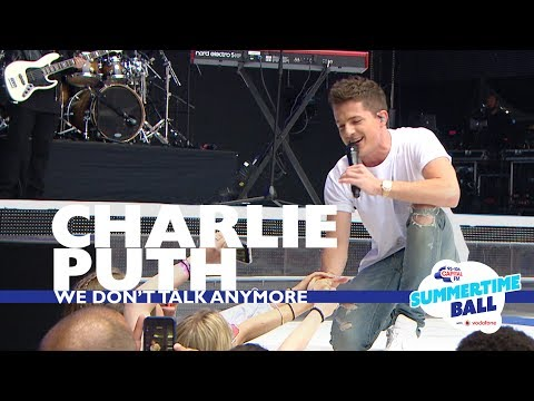 Charlie Puth - &39;We Don&39;t Talk Anymore&39;   At Capital's Summertime Ball
