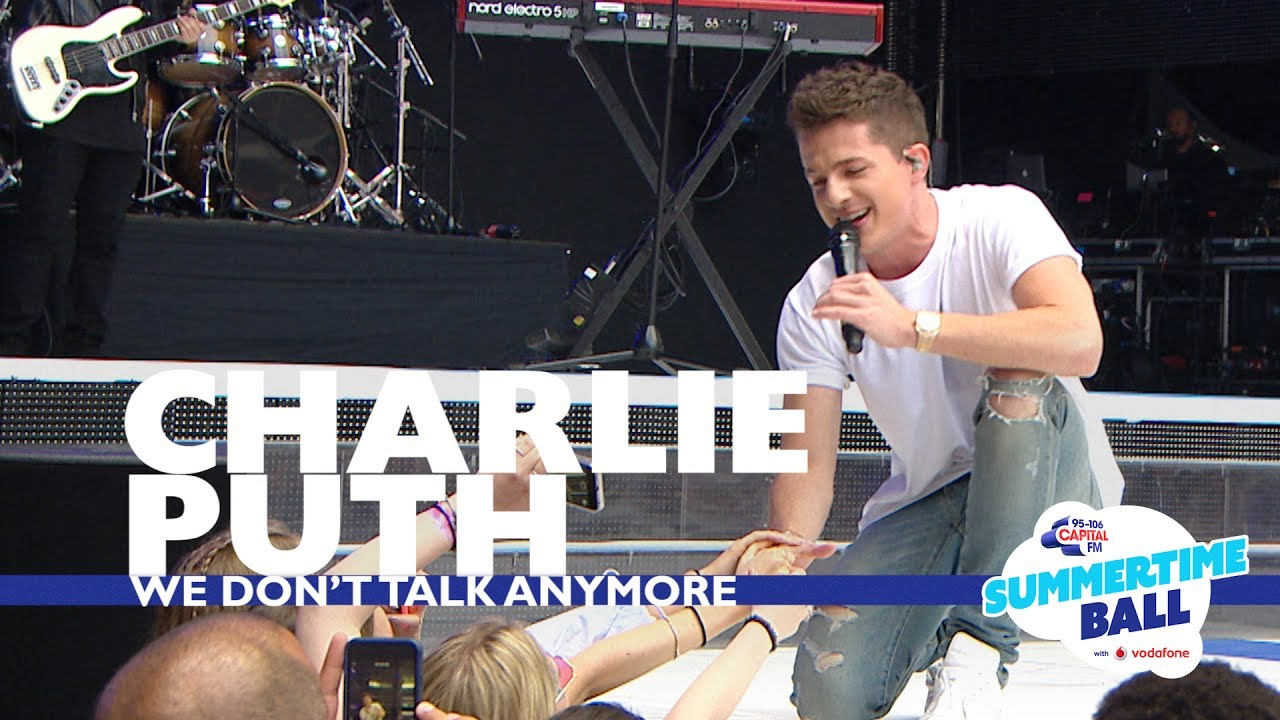 Download Charlie Puth - 'We Don't Talk Anymore'  (Live At Capital's Summertime Ball 2017)