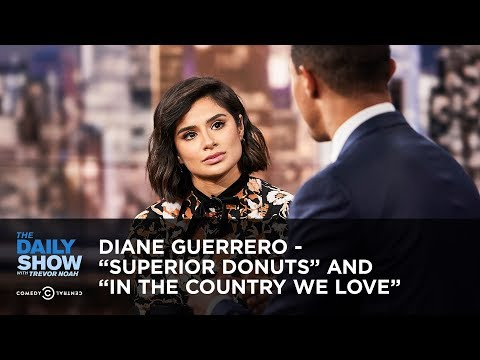 """Diane Guerrero – """"Superior Donuts"""" and """"In the Country We Love"""" 