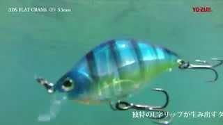 3DS FLAT CRANK 55F -水中動画-(650)