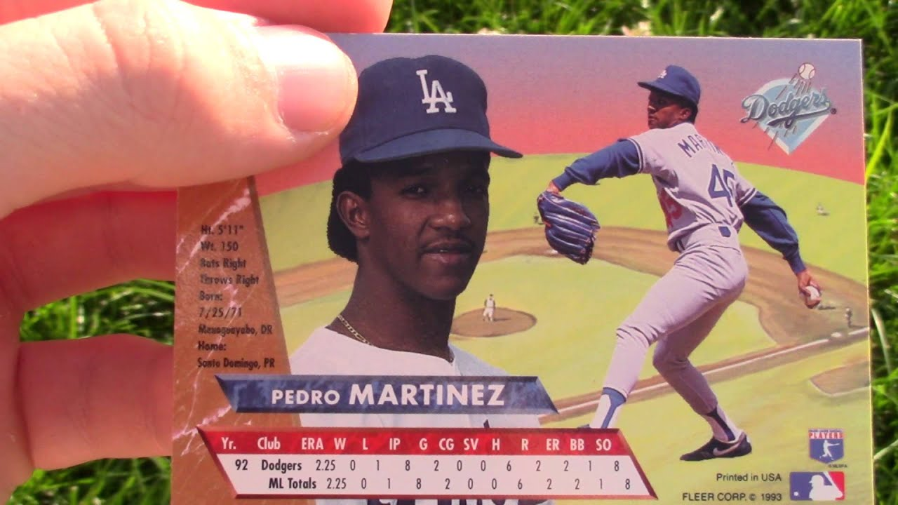 Cool Cards Episode 24 Pedro Martinez Rookie Card