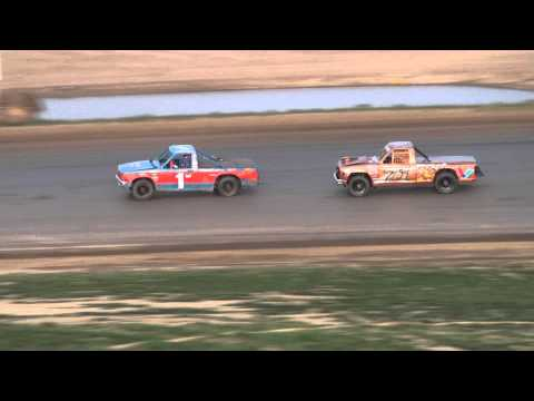 Waynesfield Raceway Park 4.18.10 Tuff Trucks Feature
