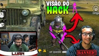 CLASH WAR FAZ HACK EXCLUIR O HACK AO VIVO no FREE FIRE (emocionante)
