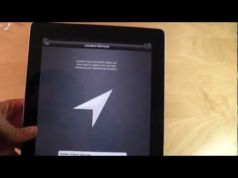 Apple Ipad 2 Intial Setup Guide - Part 2 of the Ipad2 Video Tutorial Series