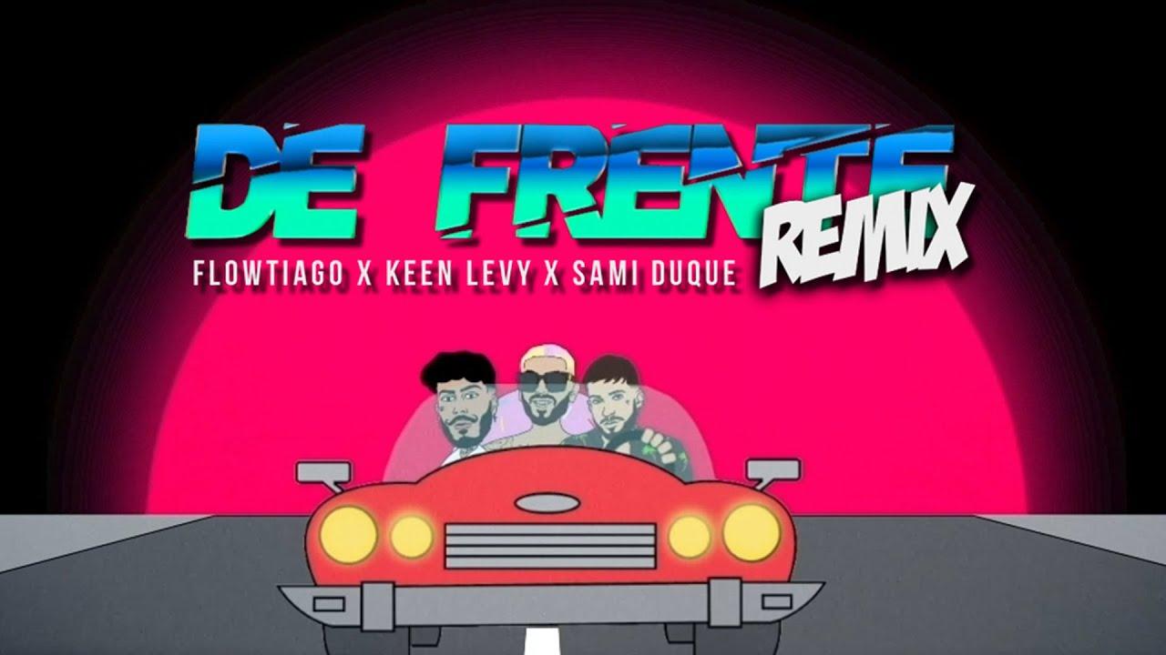 Download FLOWTIAGO - De Frente Remix (Lyric Vídeo) ft. Keen Levy & Sami Duque