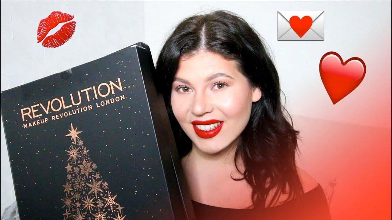 joulukalenteri 2018 arvonnat UNBOX Makeup Revolution Kalenteri 2017 ❤   + MUN ARVONTA  joulukalenteri 2018 arvonnat