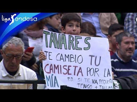 Bonito gesto de TAVARES con un NIÑO en Badalona | Liga Endesa