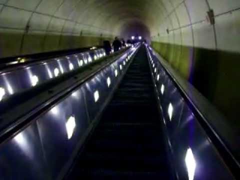 Longest escalator in the Western hemisphere - Wheaton Station, Washington D.C.