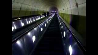 Longest escalator in the Western hemisphere - Wheaton Station, Washington D.C.
